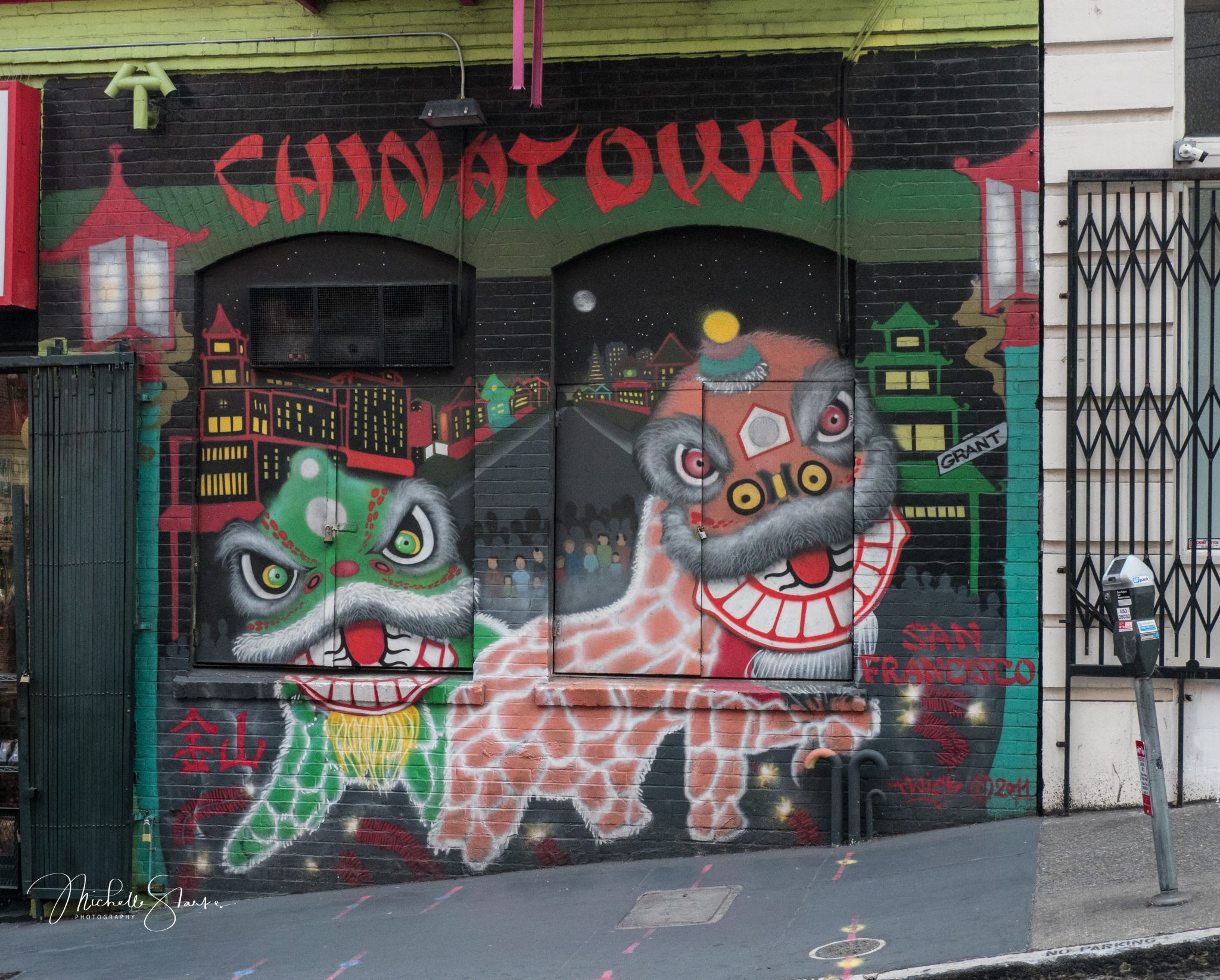 Chinatown Mural, San Francisco, CA
