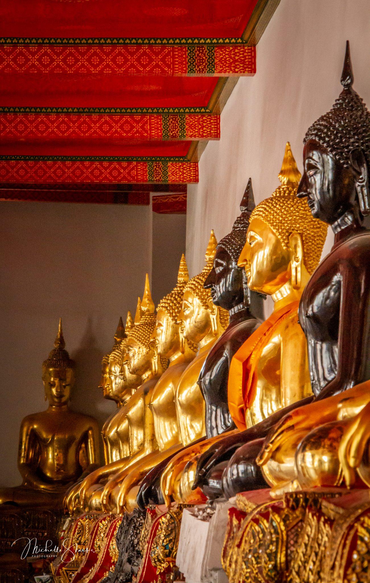 Buddha Statues, Bangkok, Thailand