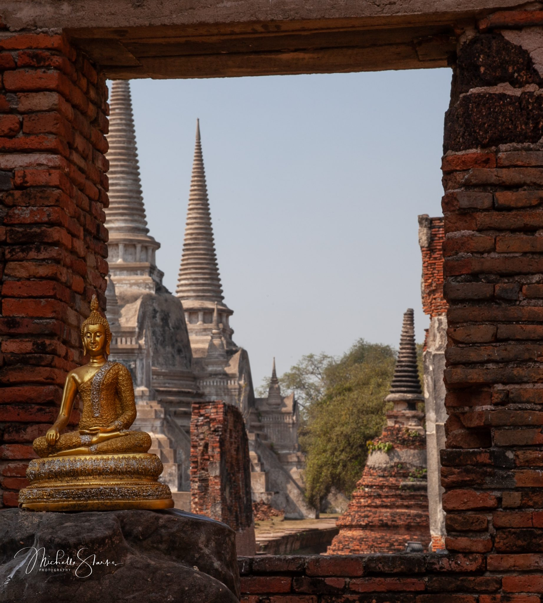Ruins of a once great empire, Ayutthaya, Thailand