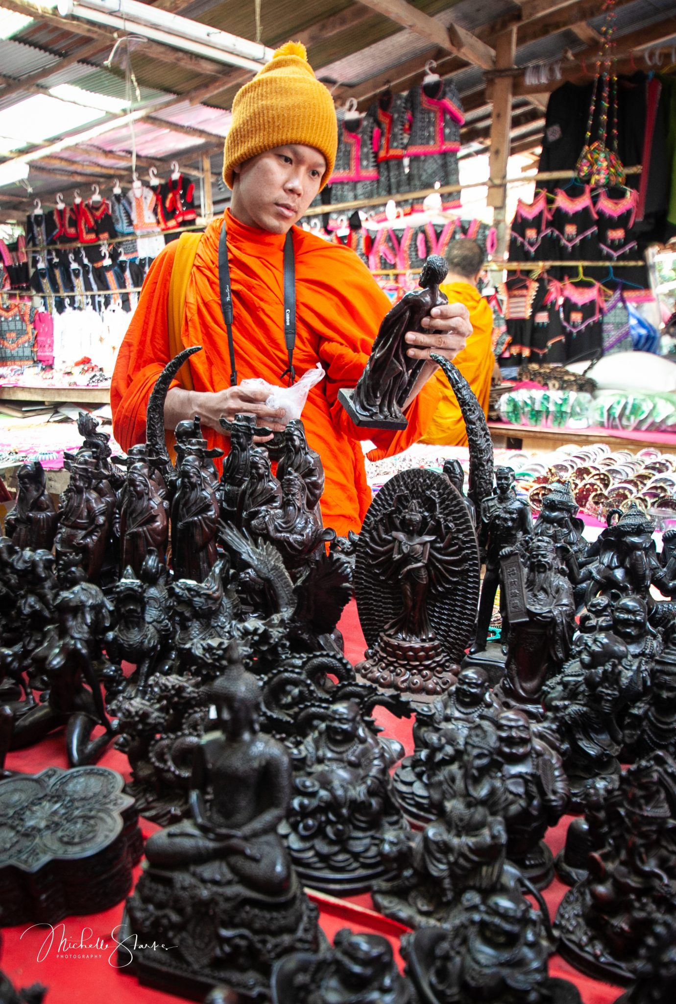Shopping in Chiang Mai, Thailand