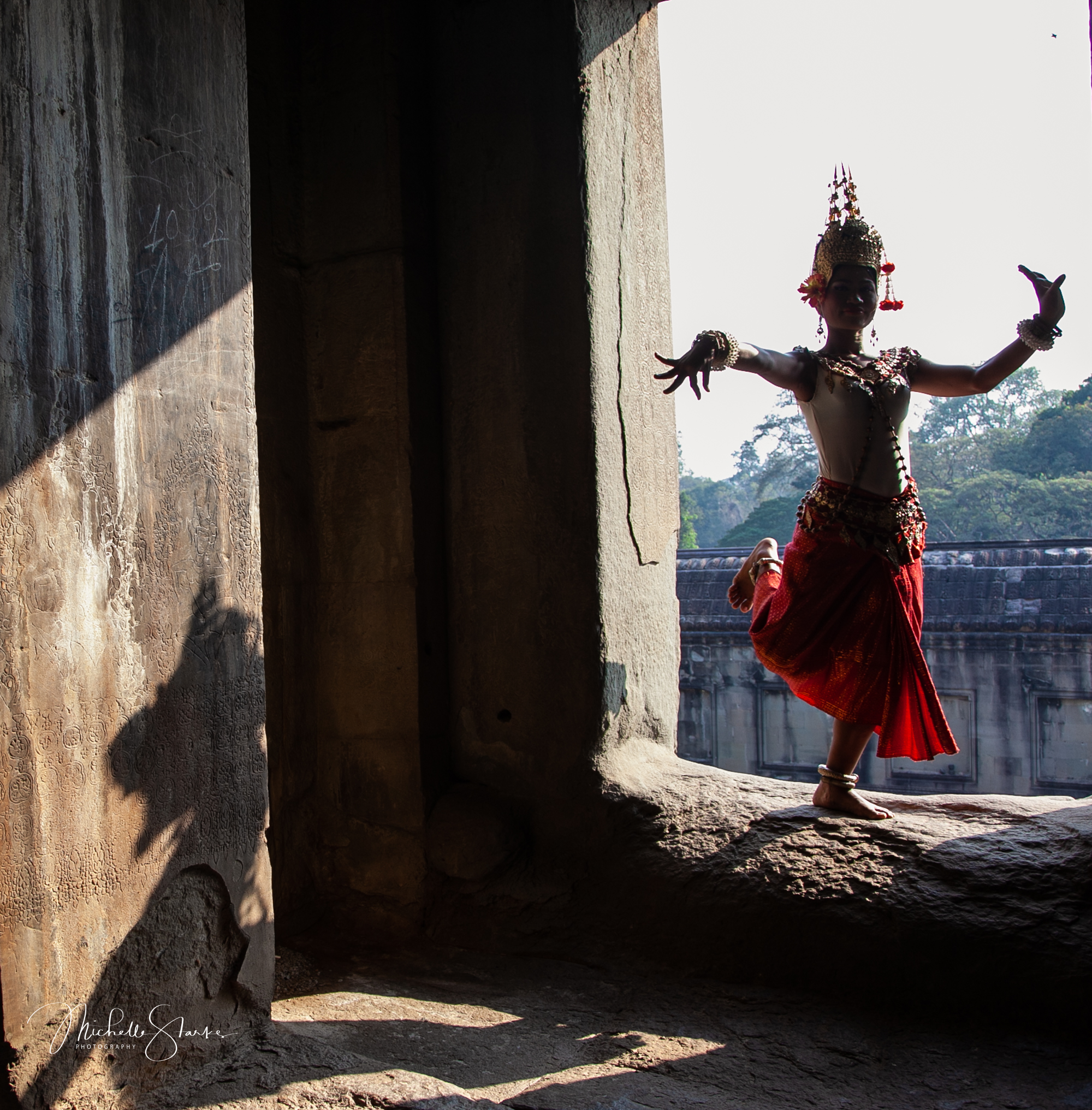 Cambodian Dancer, Angkor Wat, Cambodia
