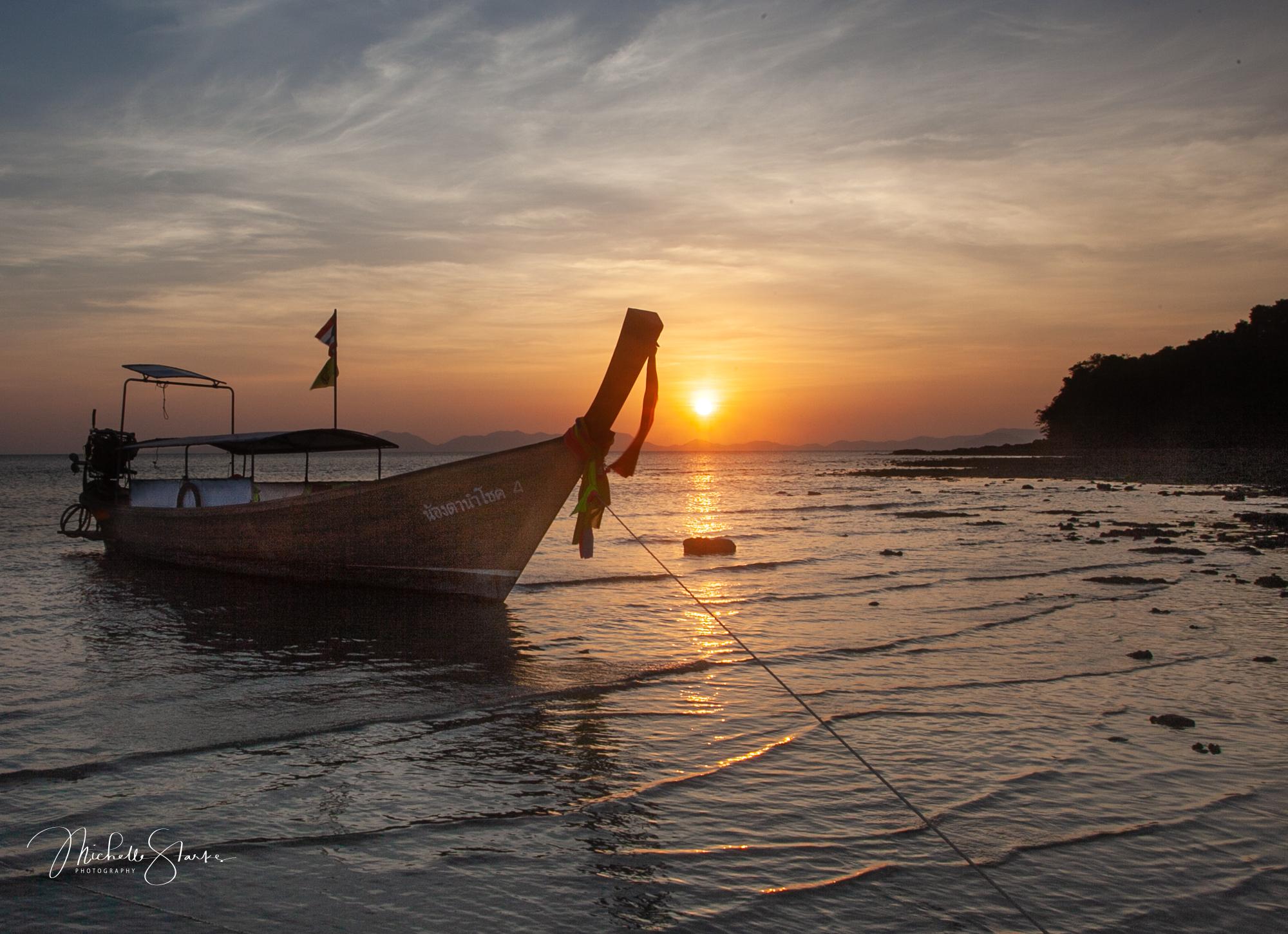 Thai Longboat, Krabi, Thailand
