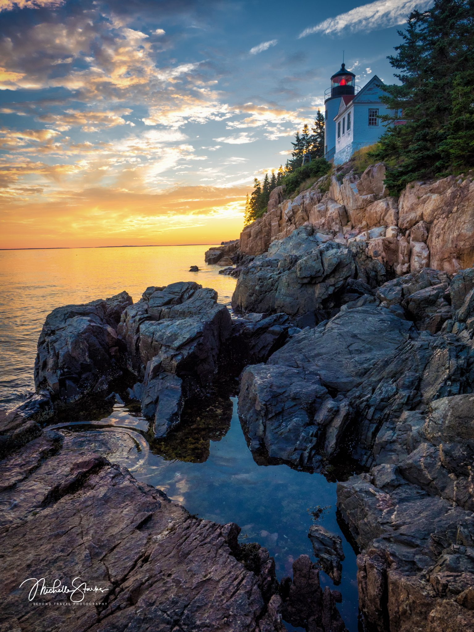 Bass Harbor Lighthouse, Bar Harbor, Maine
