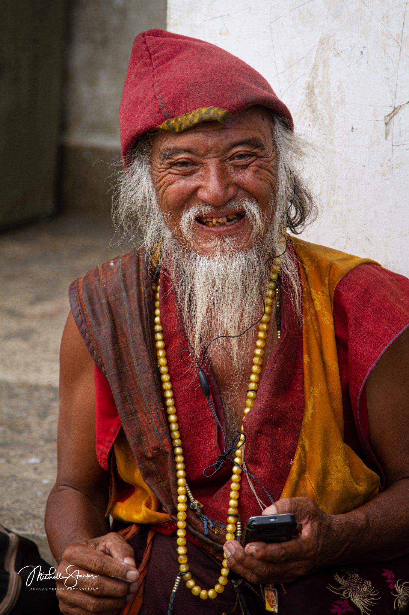 Happy Citizen of Bhutan