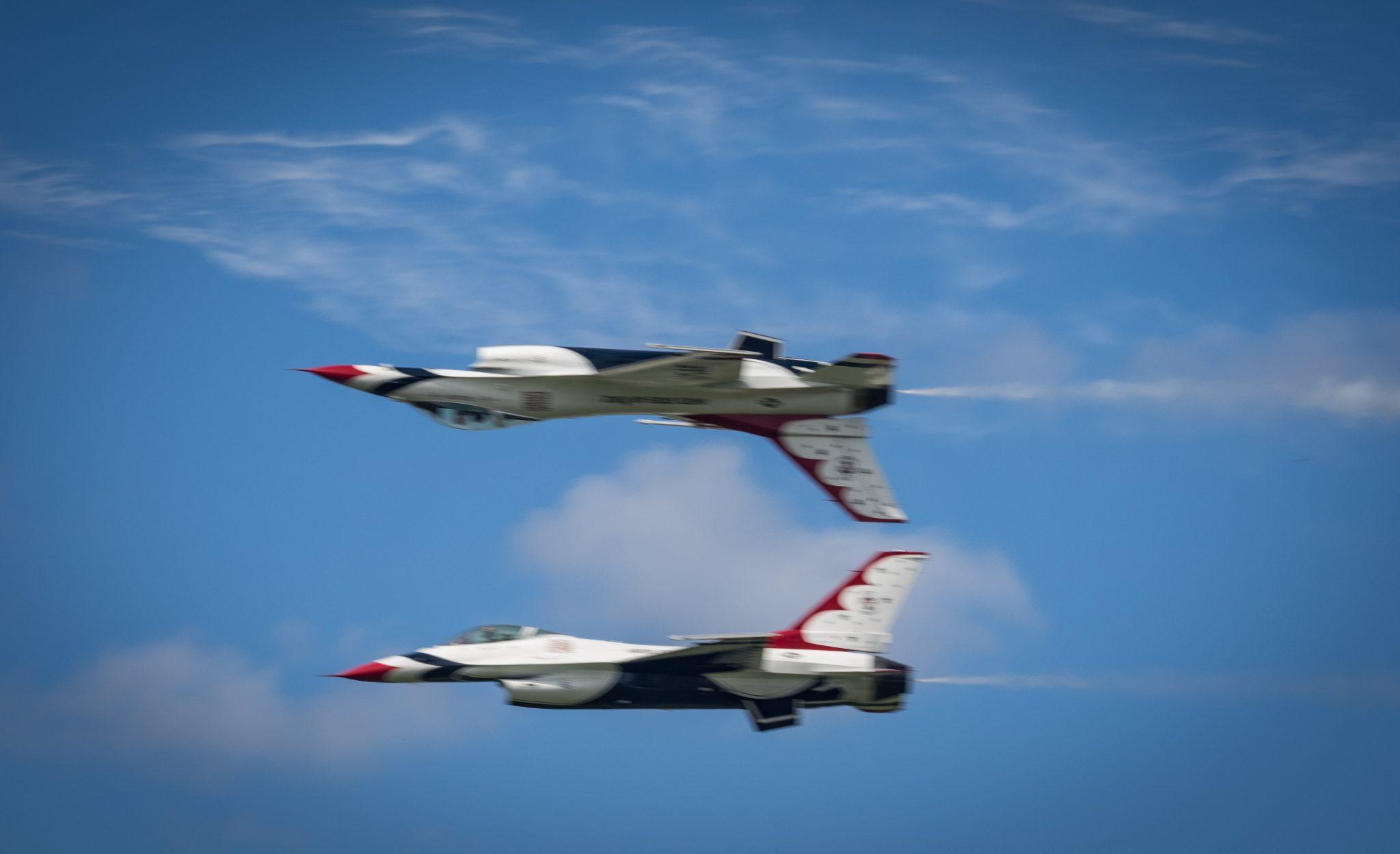 US Airforce Thunderbirds 2