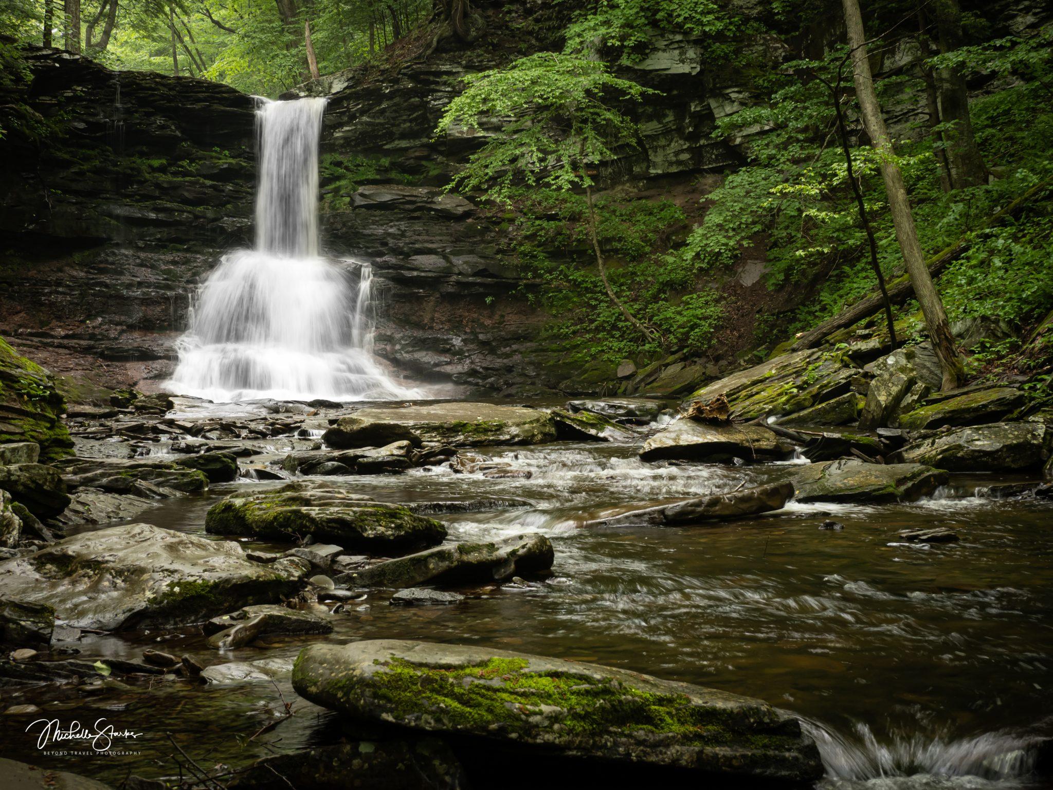 Sheldon Reynolds Waterfalls, Ricketts Glen State Park, PA 6/3/21
